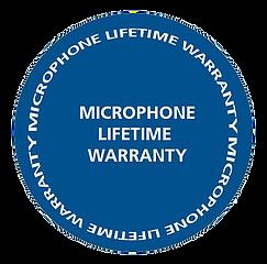 Microphone Lifetime Warranty